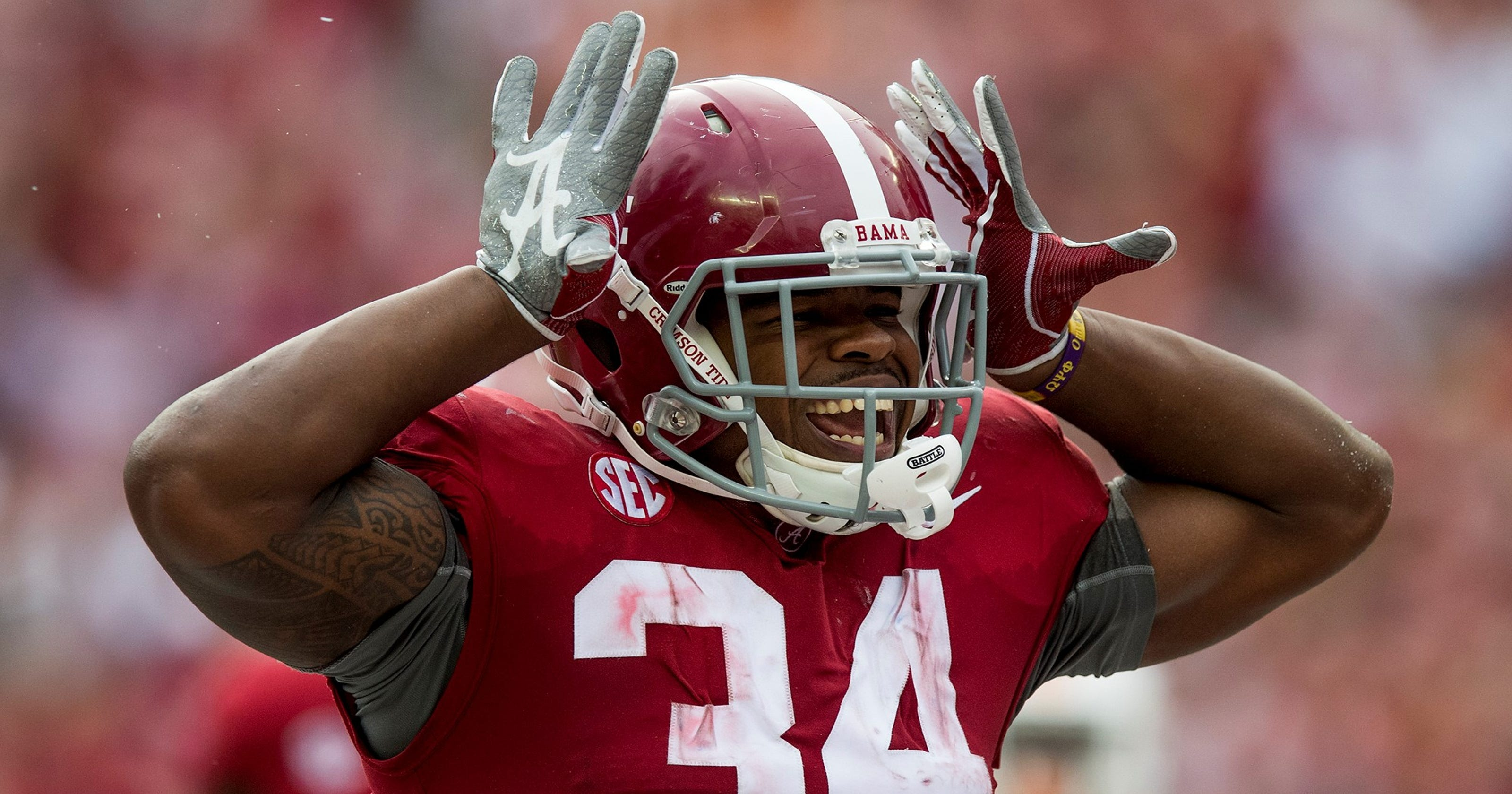 Alabama notebook  Ridley moves into second place on school s all-time  receptions list 67b0bb192