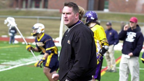 University at Albany coach Scott Marr, a Yorktown High