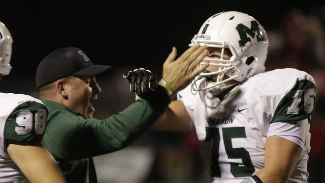 Mason head coach Brian Castner and his Comets took a huge step forward in their attempt to make the playoffs by beating Lakota West last Friday.