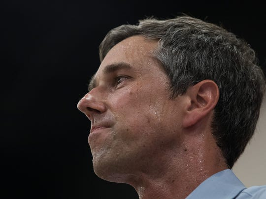 The Texas Democratic candidate for Senate, Rep. Beto