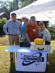 The Astronomical Society took part in the refuge celebration