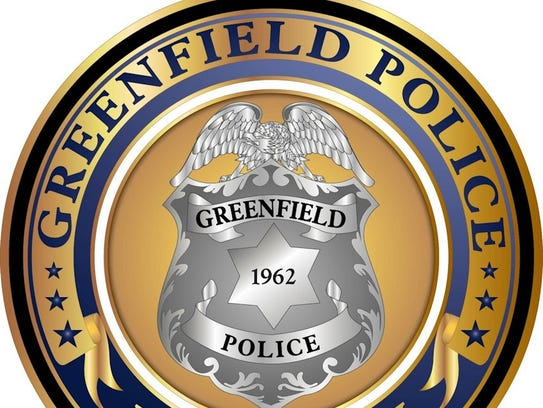 The Greenfield Police Department logo.