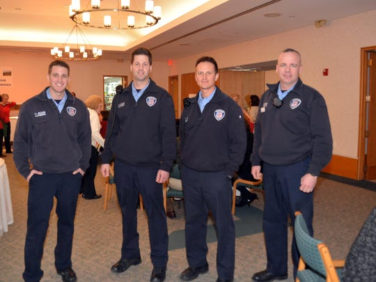 Bloomfield Hills Public Safety Officers were treated to a homemade spaghetti at St. Hugo of the Hills.