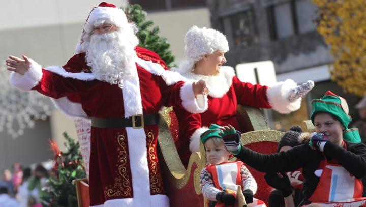 Marion parade brings Christmas magic