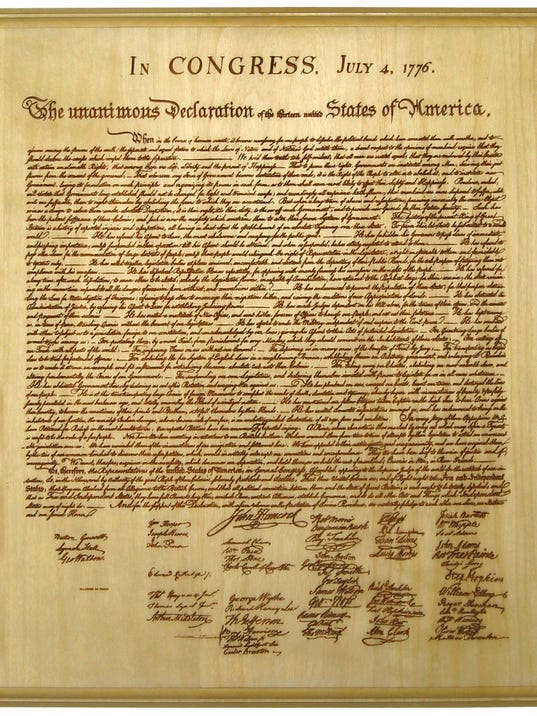 an analysis of the laws of nature the first paragraph of the declaration of independence 1 this defense of natural rights  the first state constitutions, which  is the  supreme law of the state, channing affirmed  the meaning of nature.