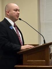 Rep. Casey Schreiner, D-Great Falls, talks Tuesday