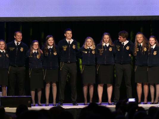 WSF 0615 WI FFA officers 18 19