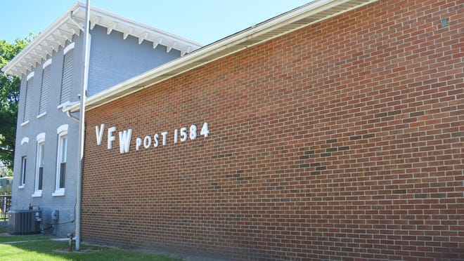 The exterior of the Annis-Fint VFW Post No. 1584, 726 N. Main St., Adrian, is pictured Sunday afternoon. The coronavirus pandemic has shut the post's doors, which in turn has forced the post into months of financial losses.