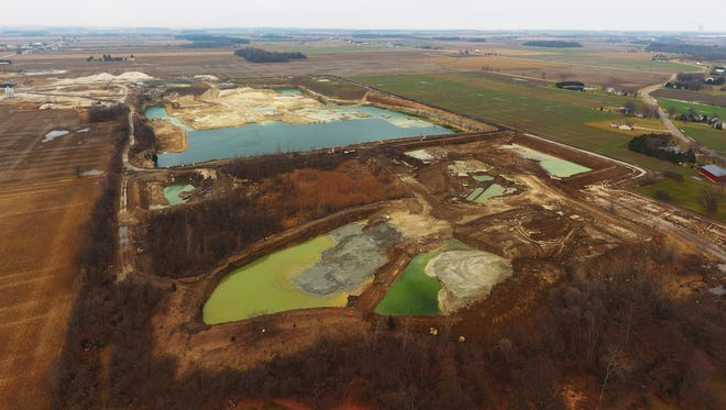 Residents of Benton Township fear for the safety of their drinking water pulled from wells in their yards. The lime sludge dumped in the quarry is waste from treating water from Lake Erie for Toledo residents to drink. It is known to contain arsenic, cadmium, lead, copper, mercury and other heavy metals and contaminants.