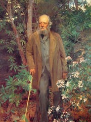 Frederick Law Olmsted, by John Singer Sargent.