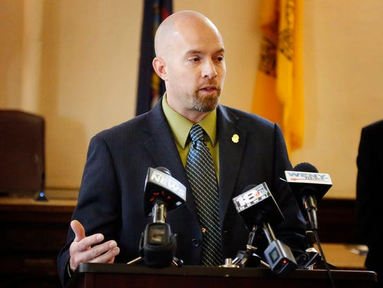 Matthew Ramarge, DEA resident agent in charge for Rochester,