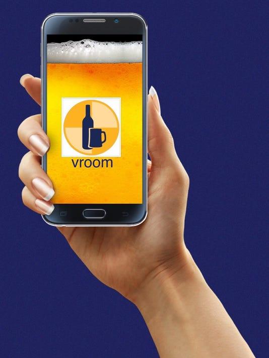 vroom app logo