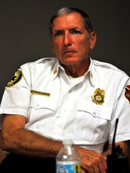 Marco Island Fire Chief Mike Murphy