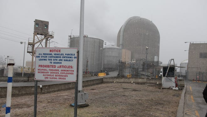 Indian Point 3 is photographed at the Indian Point Nuclear Generating Station in Buchanan on Feb. 29, 2012.
