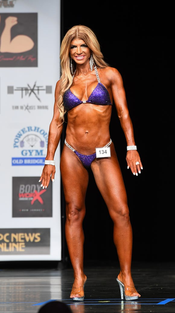 Teresa Giudice competed in her first bodybuilding competition