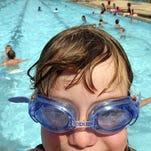 Mike Wood swimming pool