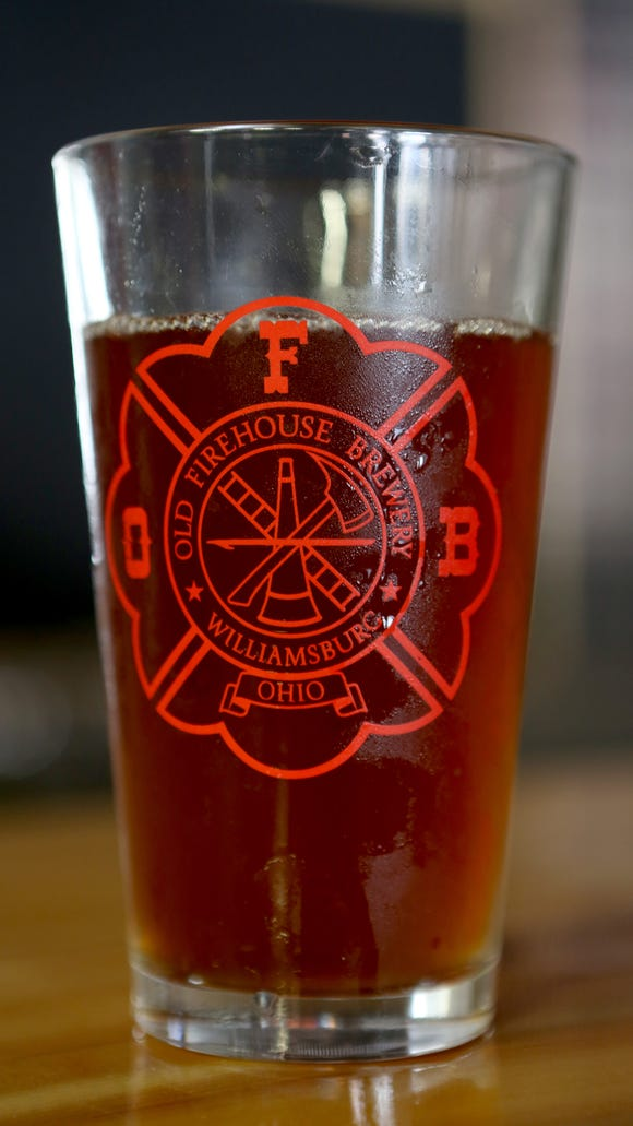 Irish Red beer by Old Firehouse Brewery in Williamsburg which will open on Sept. 12.