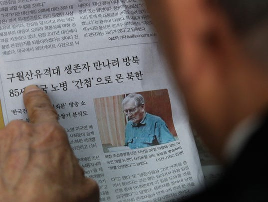 Vet held in N. Korea