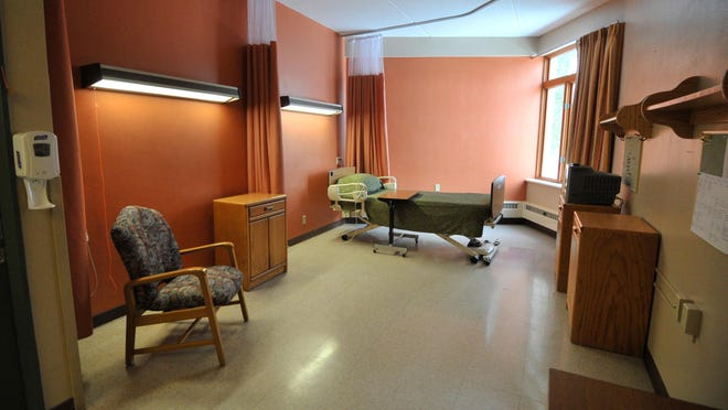 Photo of a vacant unit Feb. 26, 2014, at Mount View Care Center in Wausau. North Central Health Care wants to upgrade Mount View, but progress has stalled as Marathon County works out kinks in its relationship with the health center.