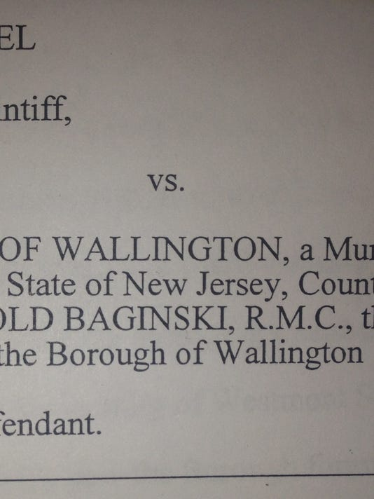 Donald Nuckel filed a lawsuit against Wallington