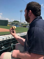Ben Brown, an account executive with the Fort Myers