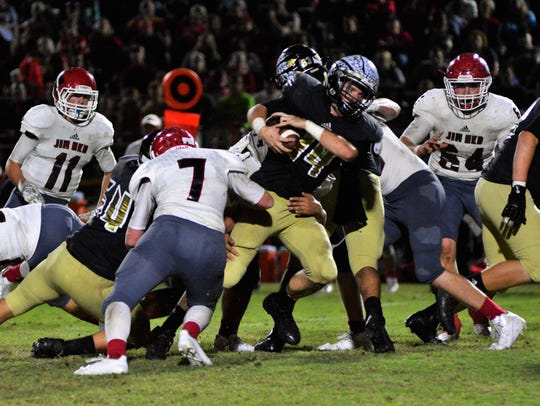 Comanche's 37-14 win over Jim Ned in Friday's Big Country