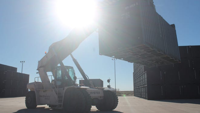This year, Holloman Air Force Base was asked to serve as the distribution center for presents for Santa's flight.