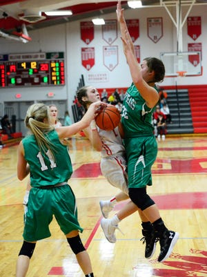 Elliana Schaefer, left, and Grace Bias have bought into a defense-first mentality.