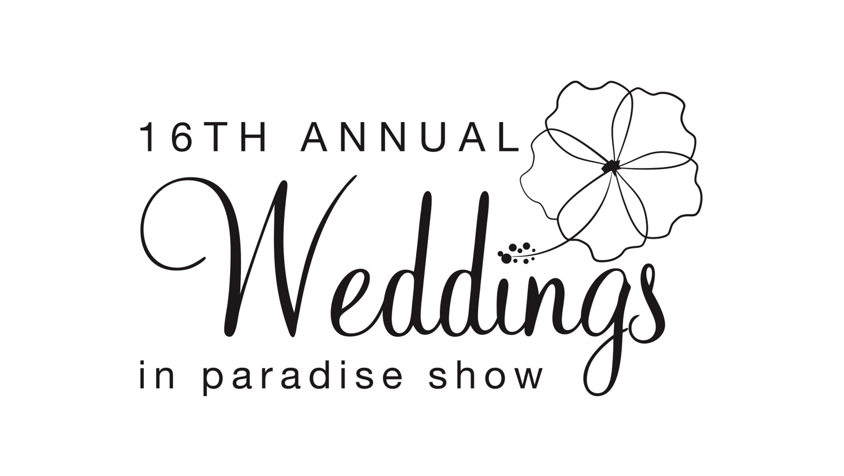 Weddings in Paradise Show returns March 19