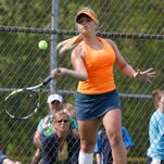 Carley Lucas is Ryle's No. 1 singles player for the third straight year. She's shooting for a second trip to the state tournament.