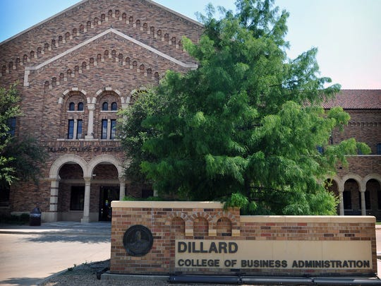 The Dillard College of Business Administration at Midwestern State University in Wichita Falls, Texas.