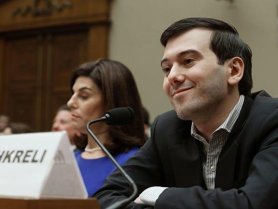 Martin Shkreli, former CEO of Turing Pharmaceuticals,
