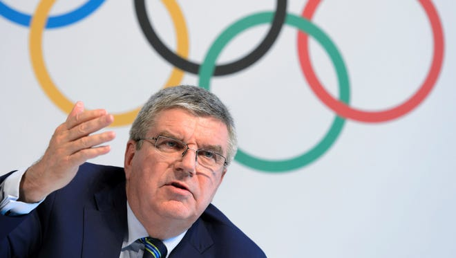International Olympic Committee President Thomas Bach.