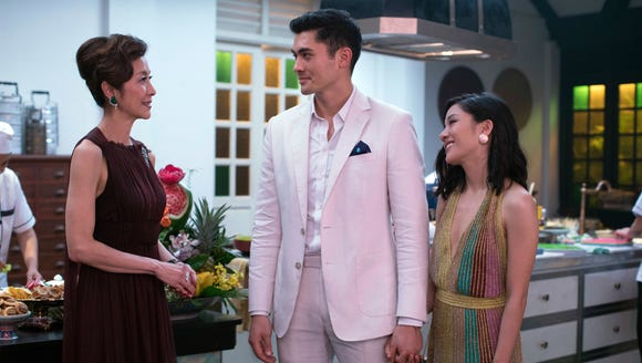"""Crazy Rich Asians"" hits theaters Aug. 17, and we've"