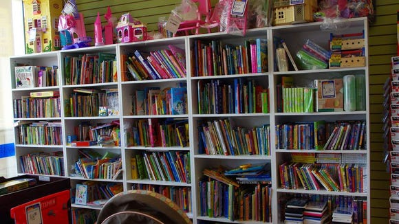 Lots and lots of books.