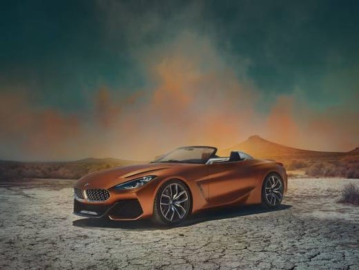 Bmw Roadster Z4 >> Bmw Z4 Roadster Concept Vehicle Revealed In Pebble Beach