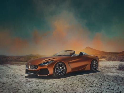 The Bmw Z4 Roadster Concept Vehicle
