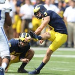 Quinn Nordin's historic start continues for Michigan football
