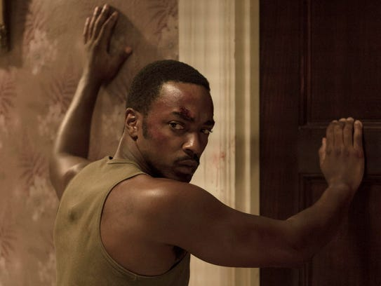 Anthony Mackie plays a soldier returning from 1967