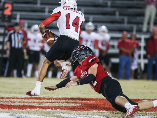 Friday Night Football: Sonora vs Ballinger, Nov. 3, 2017