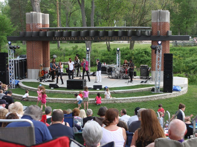 More than 10 bands will rock out June 10 at the LaFontaine