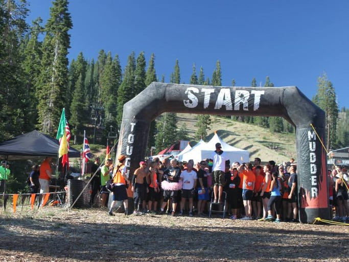 Images from Saturday's Tough Mudder Tahoe, an endurance obstacle event held Saturday, Aug. 16, 2014 at Northstar.