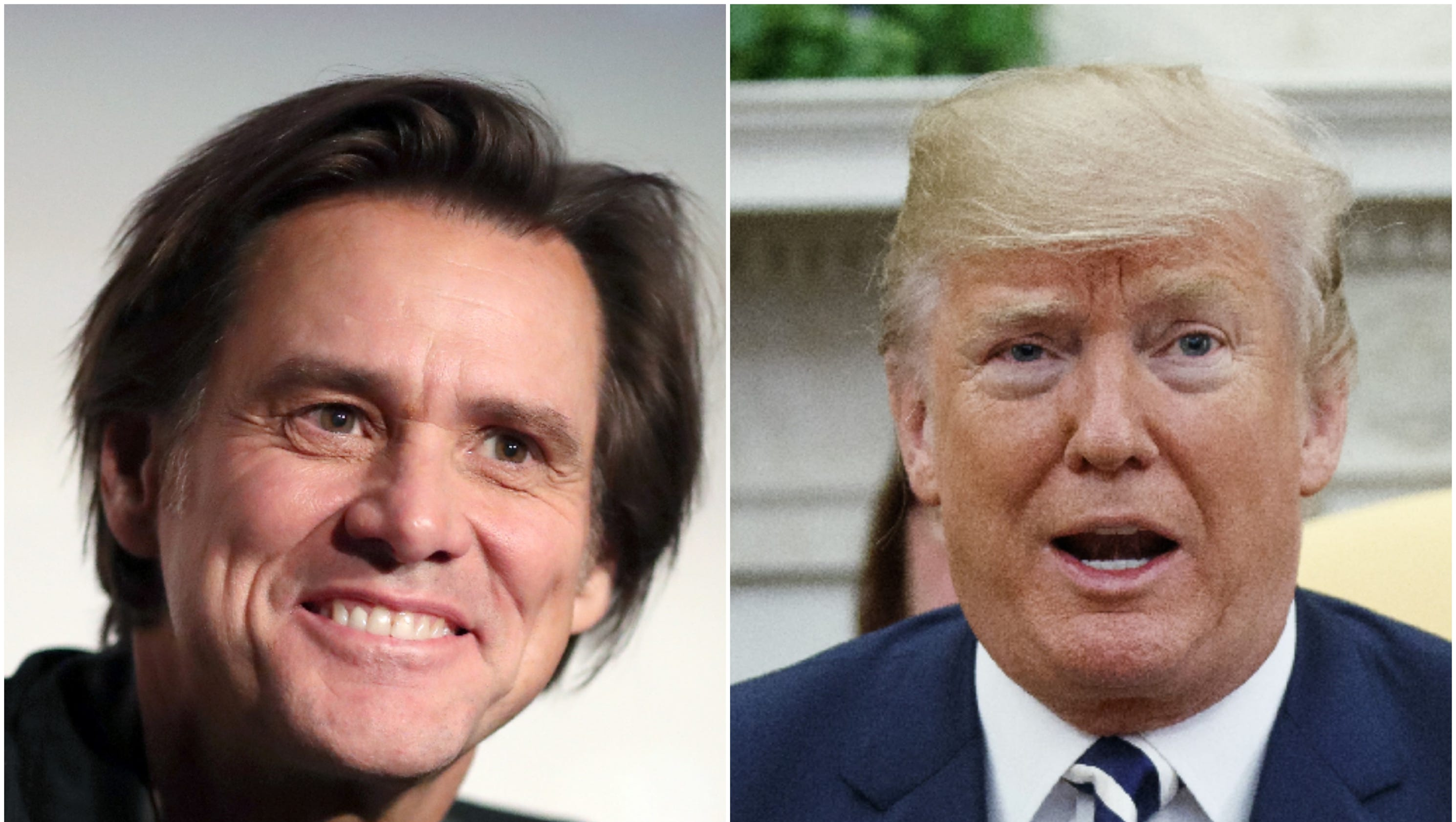 Jim Carrey unveils latest painting: President Trump as the 'Wicked Witch of the West Wing'