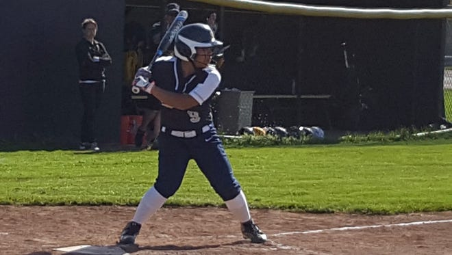 Hannah Catallo-Stooks is a shortstop for Sutherland high school.