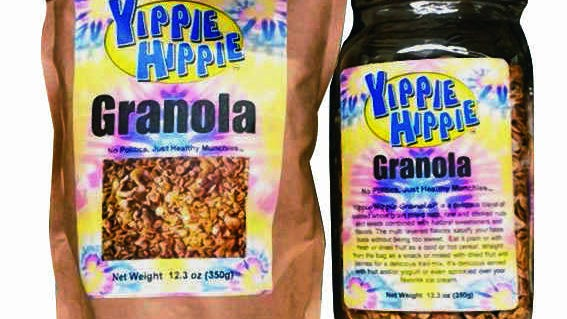Memphis-made Yippie Hippie Granola is packed with tasty nutrients.