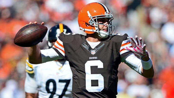 Browns QB Brian Hoyer defeated one of his former teams Sunday.