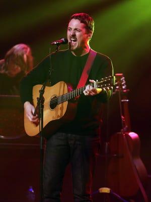 Sturgill Simpson performs at the Ryman Auditorium Friday October 30, 2015.