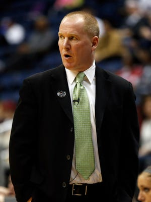Windsor graduate Jim Crowley is in his first season as women's basketball coach at Providence. The Friars will host Binghamton University on Saturday.