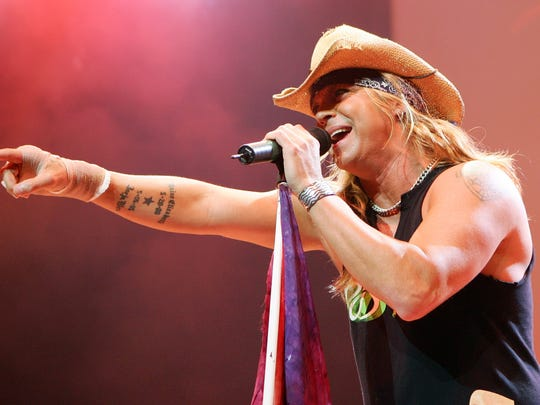 Poison singer Bret Michaels will perform at this year's Pensacola Interstate Fair.