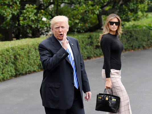 President Trump and First Lady depart the White House en route to Warsaw, Poland  - DC